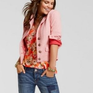CAbi  #5301 Amelia Pinkish Tweed  Womens Jacket